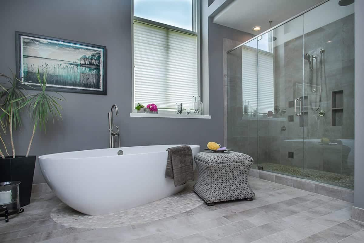 Pleasing Lansing Bathroom Remodeling Contractor Home Improvement Interior Design Ideas Apansoteloinfo