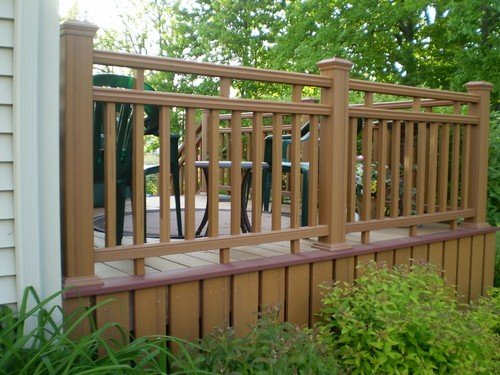 Deck With Railing