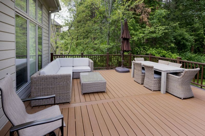 New Trex Deck Thorngate Drive East Lansing After