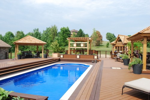 Poolside and Hot Tub Decks