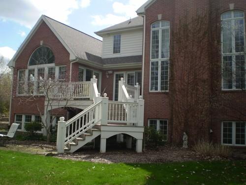 Deck Stairway, Deck Stairways, Custom Built Design & Remodeling, Custom Built Design & Remodeling