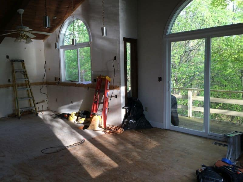 Whole House Remodel During